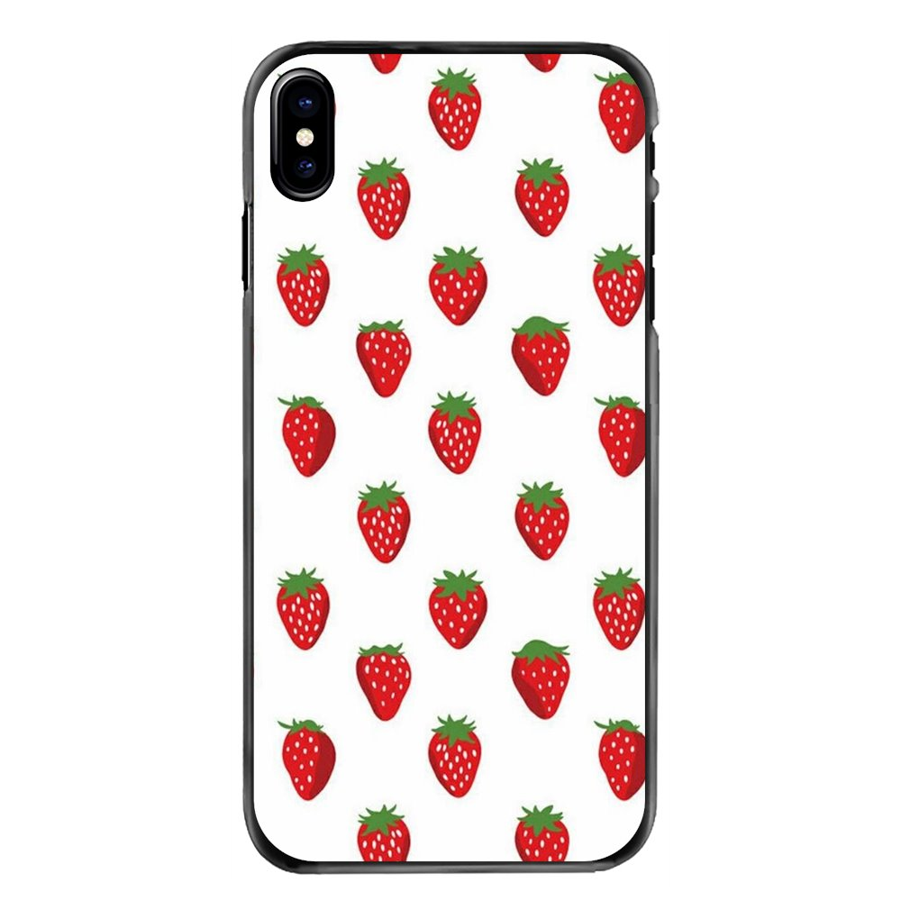 Cute Apple Fruit Wallpaper Accessories Phone Shell Cover For Samsung Galaxy Note 2 3 4 5