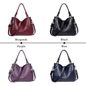 Image 3 - Lanzhixin Women Leather Handbags Women Messenger Bags Designer Crossbody Bag Women Bolsa Top handle Bags Tote Shoulder Bags 819S