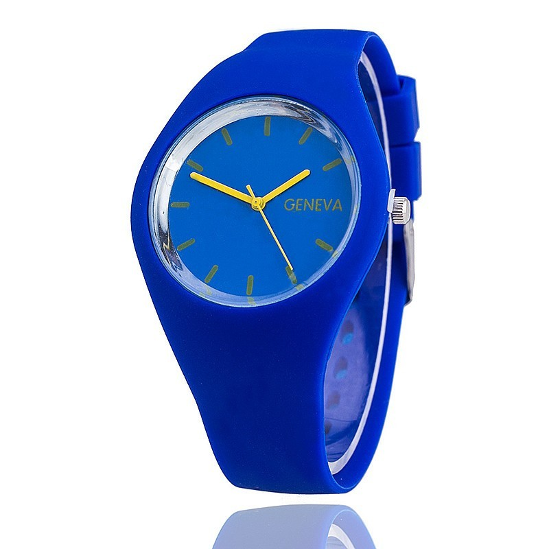 Zegarek Damski Reloj New luxury brand Geneva кварц часы Fashion силикон женщины платье Спорт часы женщины наручные часы +% D1% 87% D0% B0% D1% 81% D1% 8B