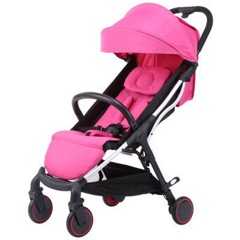 Poussette légère couché ou amortissement pliant enfant quatre saisons mère et enfant balade bébé pour garçons et filles enfants promenade
