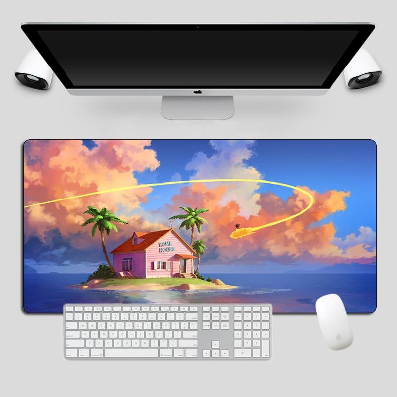 Large Dragon Ball Super MousePad Anime Otaku XL Keyboard Pad Gift Gaming Mouse Pad Gamer Fashion Durable Computer Desk Mat