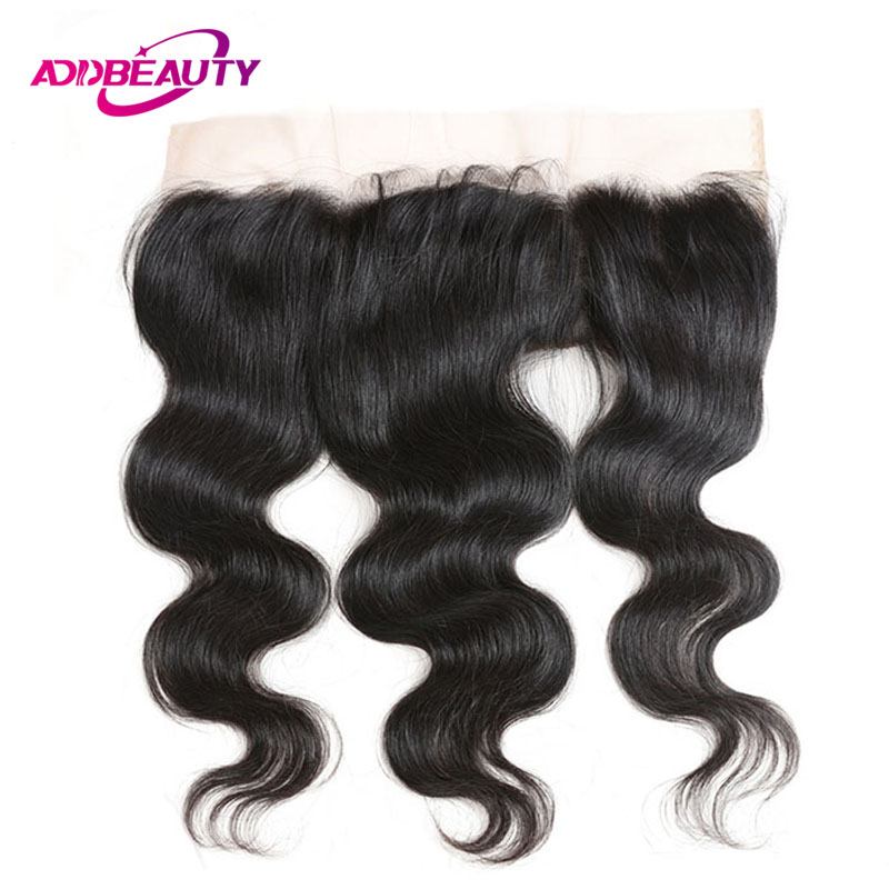 Bleached Knot 13x4 Lace Frontal Closure Body Wave Peruvian Virgin Human Hair 130% Density Pre Plucked Ear To Ear Natural Color