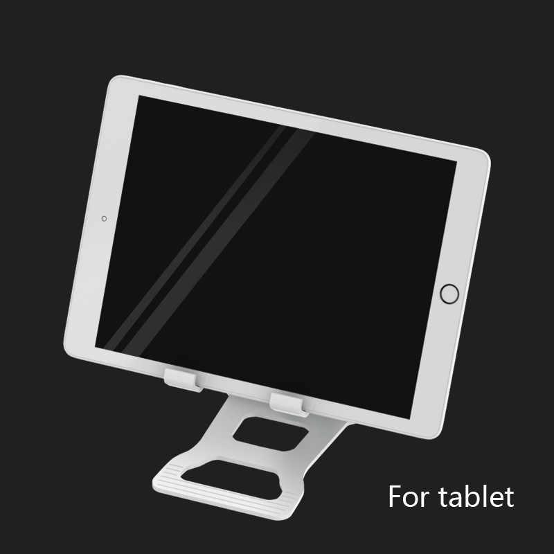 Uniwersalny ABS uchwyt na telefon składany biurko stojak na telefon uchwyt na tablet wielu kąt regulowany do iphone Xiaomi telefon samsung huawei