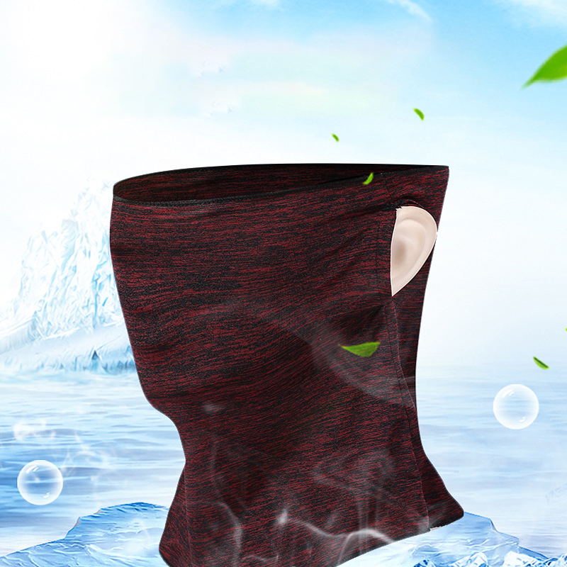 1pc Solid Unisex Mouth Face Mask Spring Autumn Face Cover Cycling Hiking Skating Warmer Skin Protect Ear Hang Comfortable Mask