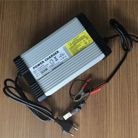 29.2V 10A Chargers for 24V Lithium LiFePo4 Battery Pack EU Standard Plug 100 240V AC Charge