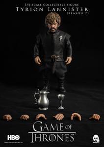 Image 1 - ThreeZero 3Z0097 HBO Game of Thrones Season 7 Hand of Queen Tyrion Lannister 1/6 Figure