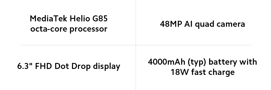 Redmi Note8 4+128GB Smartphone