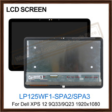 Lcd-Screen Laptop Lcd-Display 9Q23 12-9q33 Dell Digitizer Screen-1920x1080 Touch Lp125wf1-Spa3