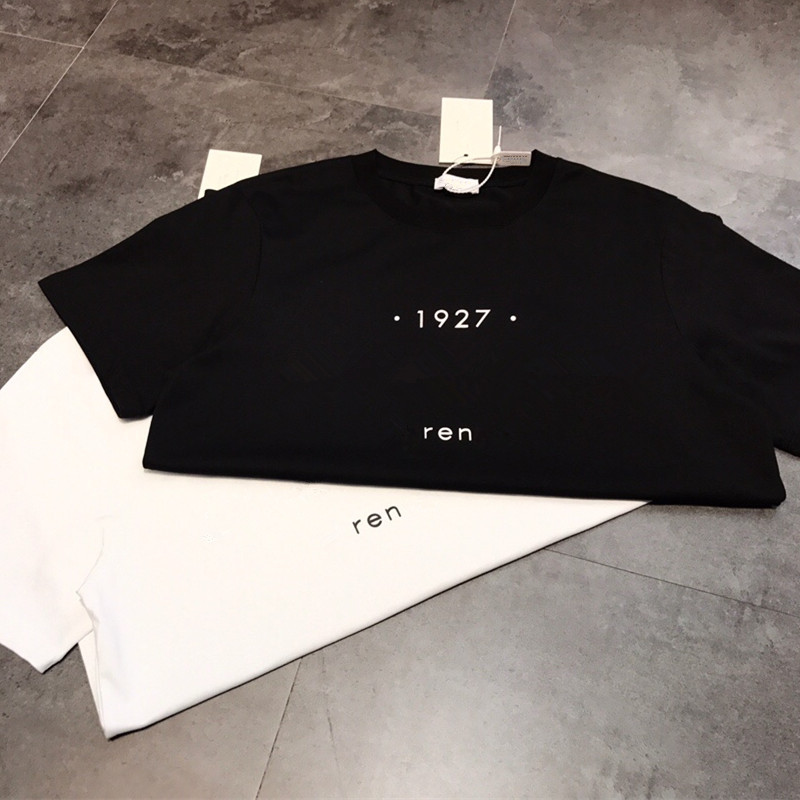 Tees Women Casual T Shirt Print  Letter T-shirt White Short Sleeve 100% Cotton Tops 2020 Spring Summer Brand