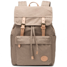 Outdoor Mens Canvas Rucksack Hiking Camping Army Military Waterproof Sports Bags Trekking Travel Mountain Backpack Sports