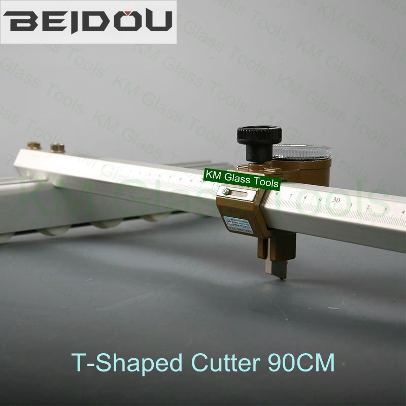 """Free Shipping!Super quality!BEIDOU 36"""" / 90CM Glass T Shaped Cutter(SPEED CUTTER).Cutting glass 6~12 mm.-in Glass Cutter from Tools    1"""