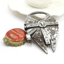 Anime Cartoon Whiskey Bottle Opener Beer Metal Alloy Key Ring For Souvenir Key Chain Pendant Keychain Kitchen Gadgets
