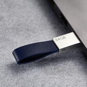 Image 5 - الأصلي شاومي Mijia U القرص 64 جيجابايت USB 3.0 عالية السرعة نقل المعادن الجسم الحجم الصغير بروتابلي الحبل تصميم