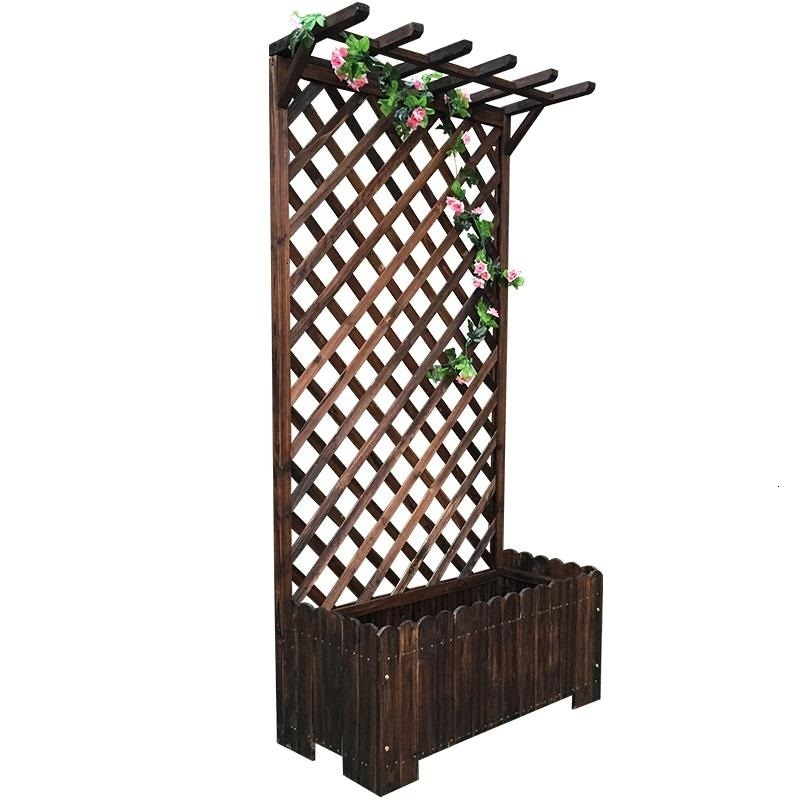 Escalera Pot Living Room Wood Mueble Para Plantas Plantenrekken Balcony Outdoor Stand Stojak Na Kwiaty Flower Plant Shelf