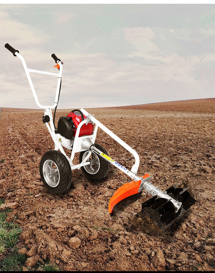 Cutter Stroke In1 Hand Tiller Brush With Grass 4 GX35 1 WheelsMini Tiller And Push Head Nylon 35 2KW 4 2 Professional 8cc