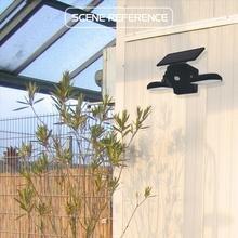 56 LED Solar Dual Head Lamp Motion Sensor Garden Light Outdoor Wall Yard Garage Driveway Energy Saving