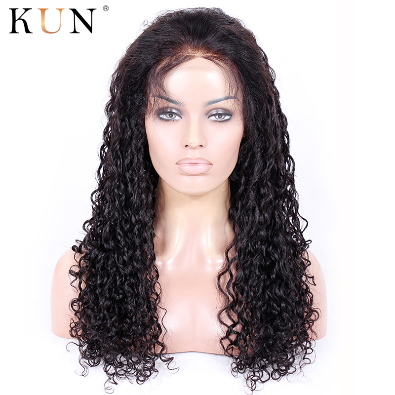 Lace Front Human Hair Wigs Water Wave Wig 13x4 13x6 Lace Front Wig 150 180 Density Lace Wig Brazilian Remy Human Hair Wigs