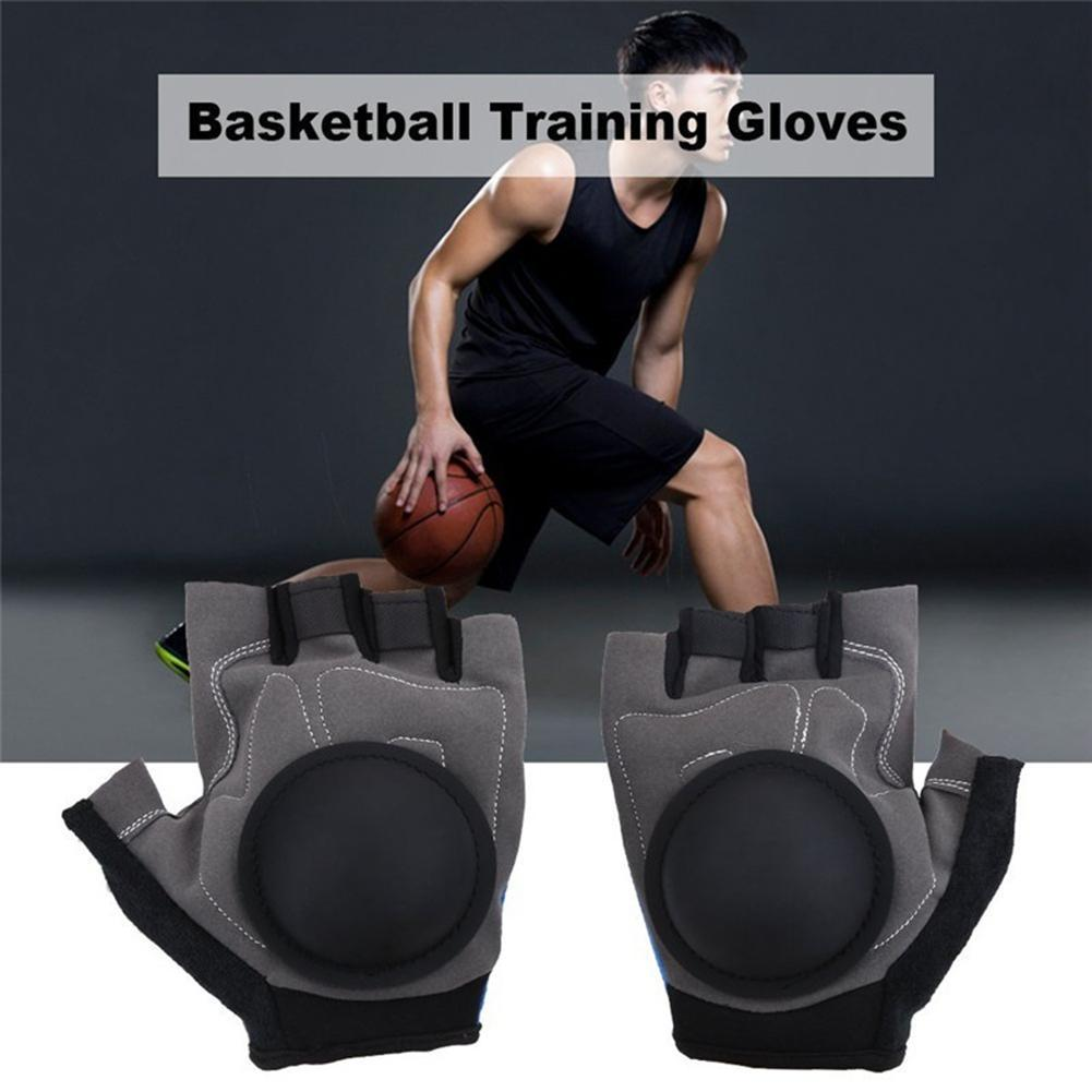 1Pair Basketball Ball Controlling Shooting Training Aid Sport Exercise Gloves