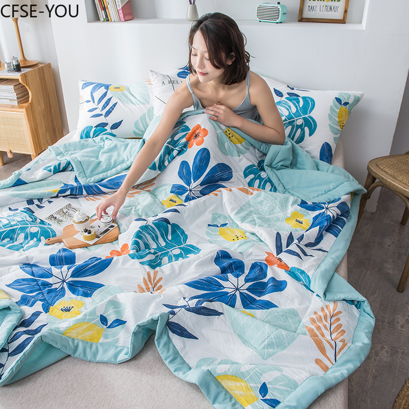 Soft Cotton Towel Blankets For Beds Soft Avocado Summer Quilt Full Queen Sofa Bed Cover Plaid Bedspread Sheet