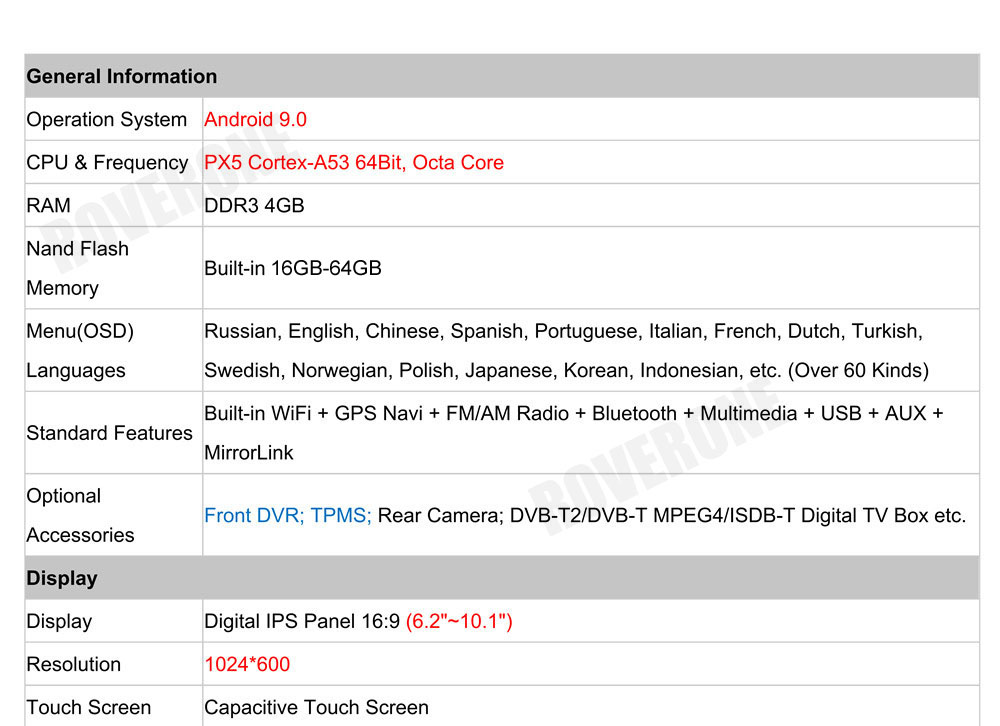 Discount RoverOne Car Multimedia Player For Fiat Fiorino Qubo For Citroen Nemo For Peugeot Bipper Android 9.0 Octa Core Radio Navigation 28