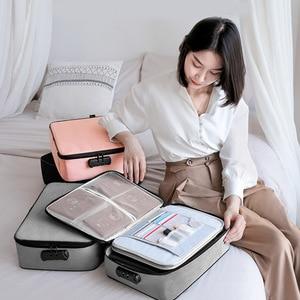 Image 1 - 문서 티켓 가방 대용량 인증서 파일 주최자 홈 여행 중요 항목 GK99