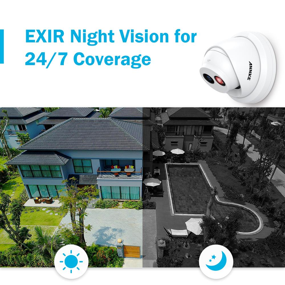 ┘Closeout DealsANNKE Video-Security-System NVR Ip-Camera Night-Vision 4K H.265 HD 8CH 8MP Ultra é
