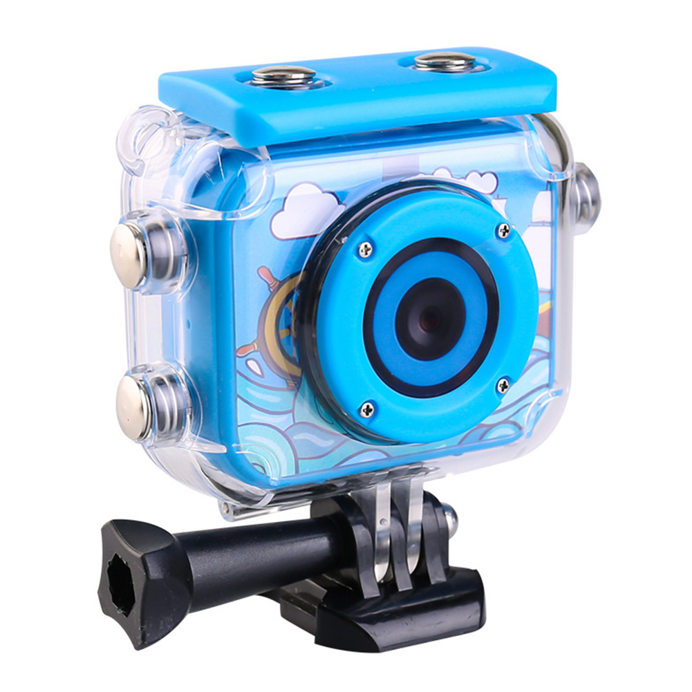 Camcorder HD 1080P Waterproof ABS Mini 2 Inch Screen Children Recoder USB Rechargeable Toys Video Gift Anti Fall Digital Camera image
