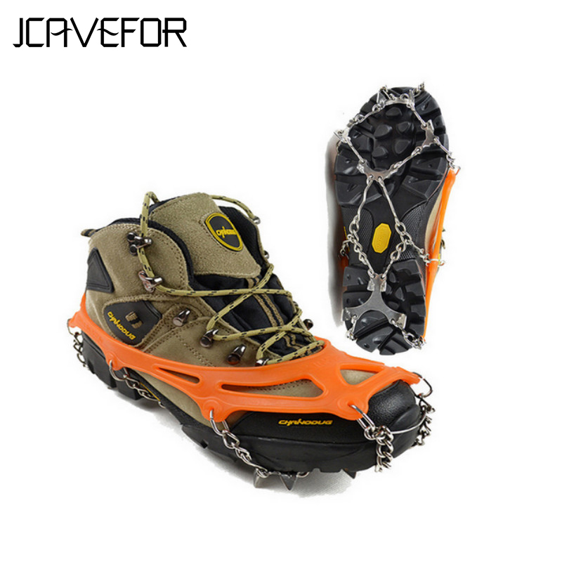 Shoes-Cover Cleats Crampons Spikes-Grips Snow-Shoe Climbing Winter No-Slip Universal