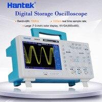 "Hantek DSO5072P عاكس ذبذبات تخزين رقمي 70MHz 2 قنوات 1GSa/s d طول 24K USB DSO 5072 7 ""TFT WVGA (800x480) P-في أجهزة كشف الذبذبات من أدوات على"