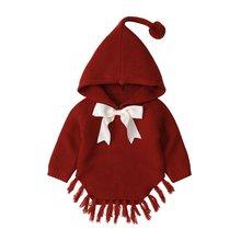 Модная одежда для новорожденных маленьких девочек вязаный свитер;