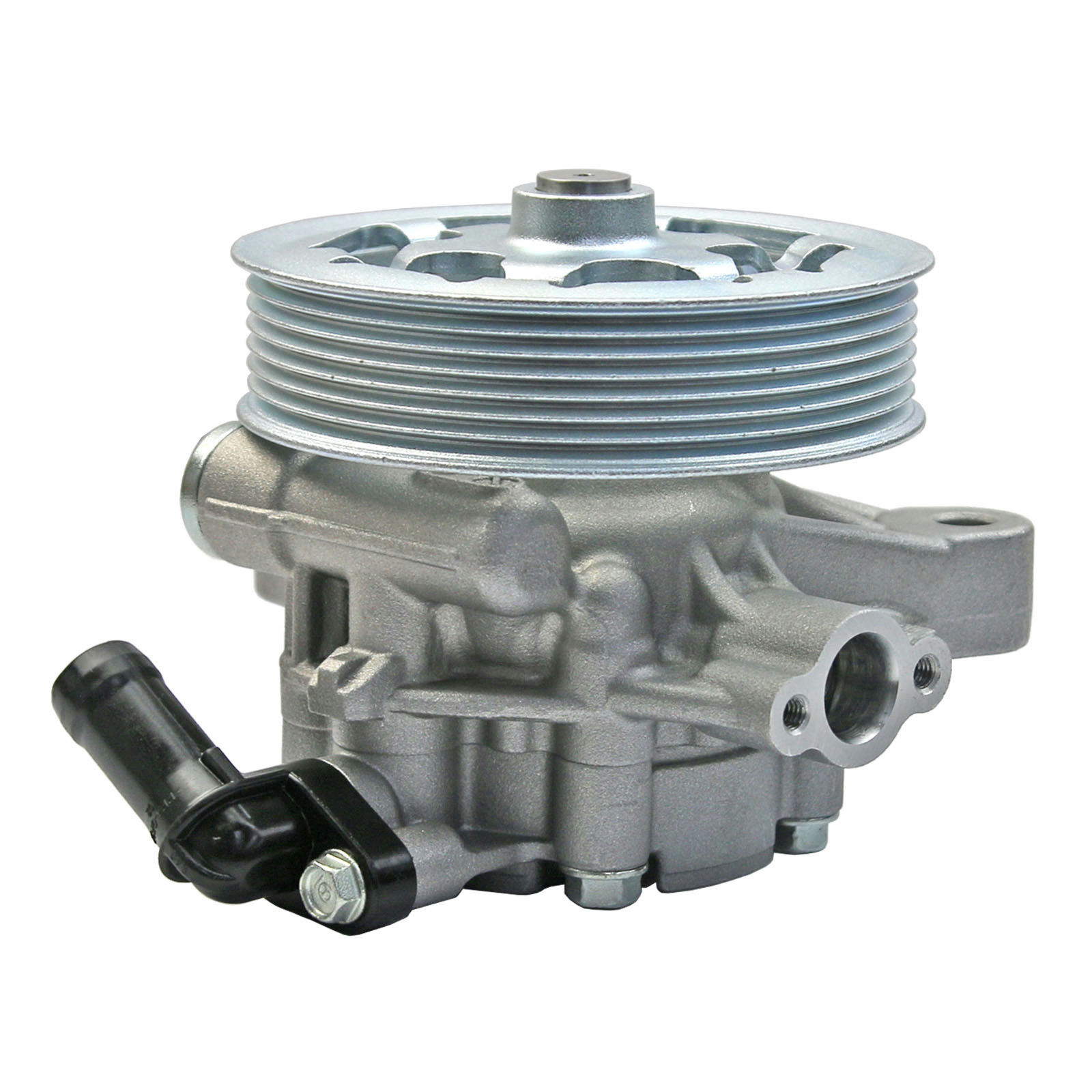 Front Power Steering Pump For <font><b>Honda</b></font> <font><b>Accord</b></font> CP2 Sedan 2008 <font><b>2009</b></font> 2010 2011 2012 2.4L 4 CYL 56110-R40-A01 56110R40A01 56110RAAA03 image