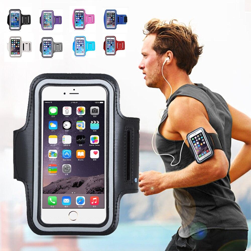 Мужские и женские сумки для телефона для бега водонепроницаемые нарукавники для сенсорного экрана аксессуары для спорта и фитнеса для бега...