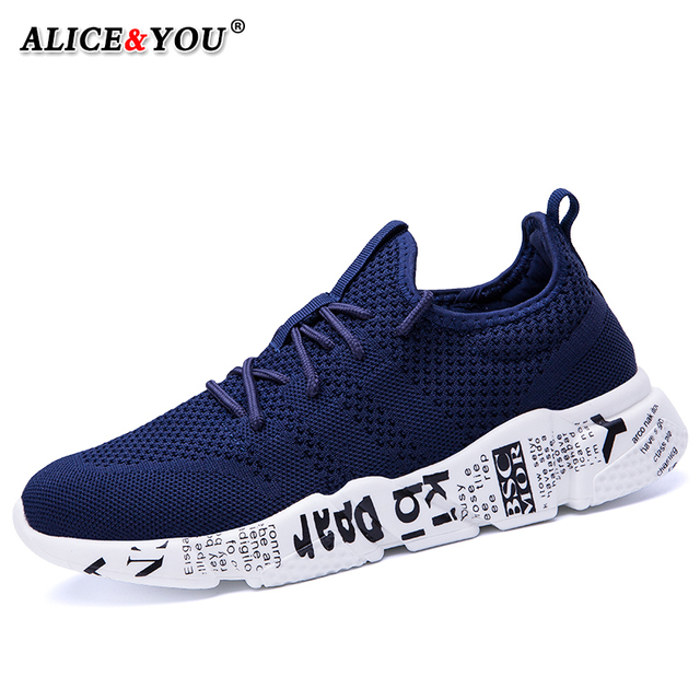 Casual Shoes Men Sneakers Comfortable Fashion Mesh Outdoor Walking Jogging Shoes New Lace-up Flat Male Footwear Zapatos Hombre 1