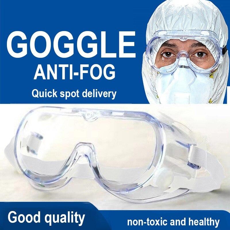 Anti Virus / Fog Splash Dust Proof Eye Protection Goggles Antiviral Eyewear Safety Glasses For Men Women