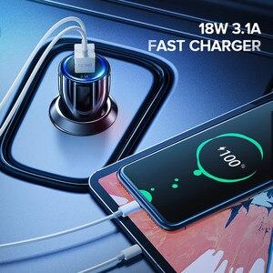 Image 2 - GETIHU 18W 3,1 EIN Auto Ladegerät Dual USB Schnelle Lade QC Telefon Ladegerät Adapter Für iPhone 12 11 Pro max 6 7 8 Xiaomi Redmi Huawei
