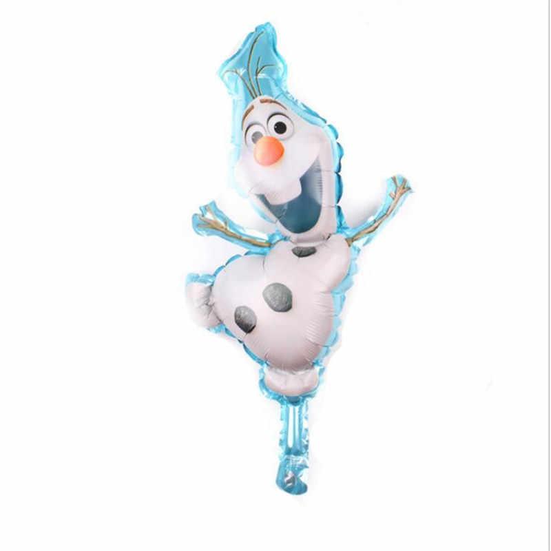1pc 18 cali okrągły Belle kopciuszek królewna śnieżka Elsa księżniczka z balonów foliowych dekoracje na imprezę urodzinową dla dzieci okrągłe z helem zabawki