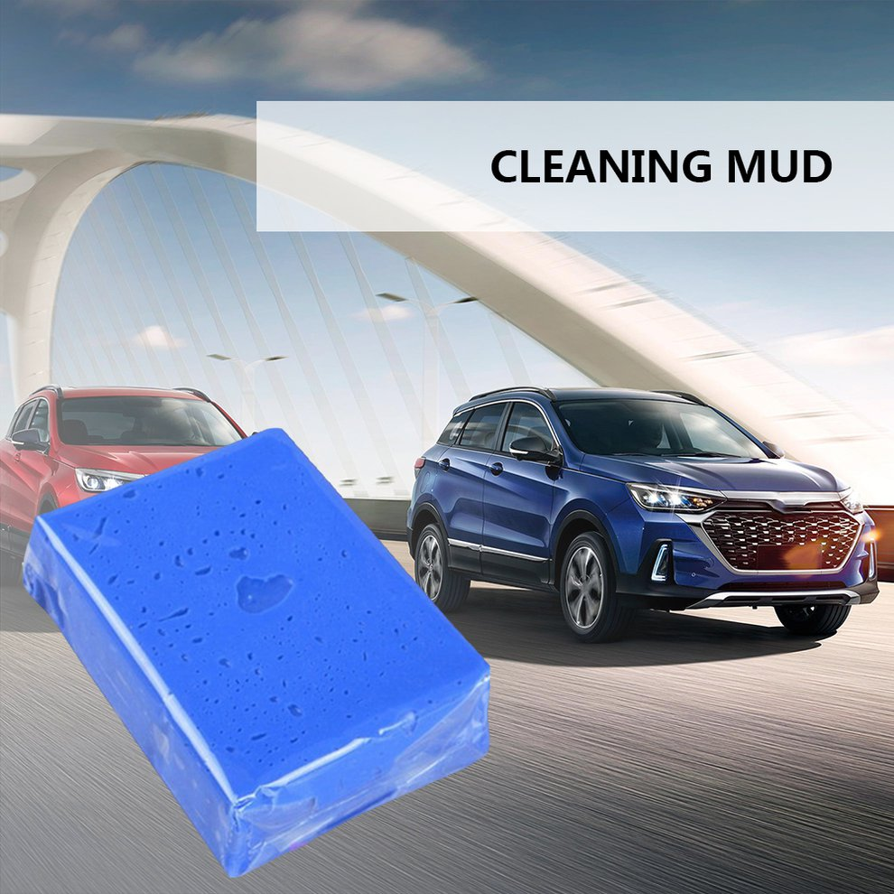 Cleaning The Car Mud Auto Care Car Wash Detailing Magic Car Truck Clean Clay Bar 100g Bar Auto Vehicle image