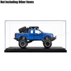 Image 3 - Odoria 24.8 × 12 × 11.5 センチメートルアクリルディスプレイケースボックスプラスチックベースの防塵アクションフィギュアモデル車の車両ポップグッズ人形