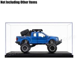 Image 3 - Odoria 24.8x12x11.5cm 아크릴 디스플레이 케이스 박스 플라스틱베이스 방진 액션 피규어 모델 자동차 차량 팝 용품 인형