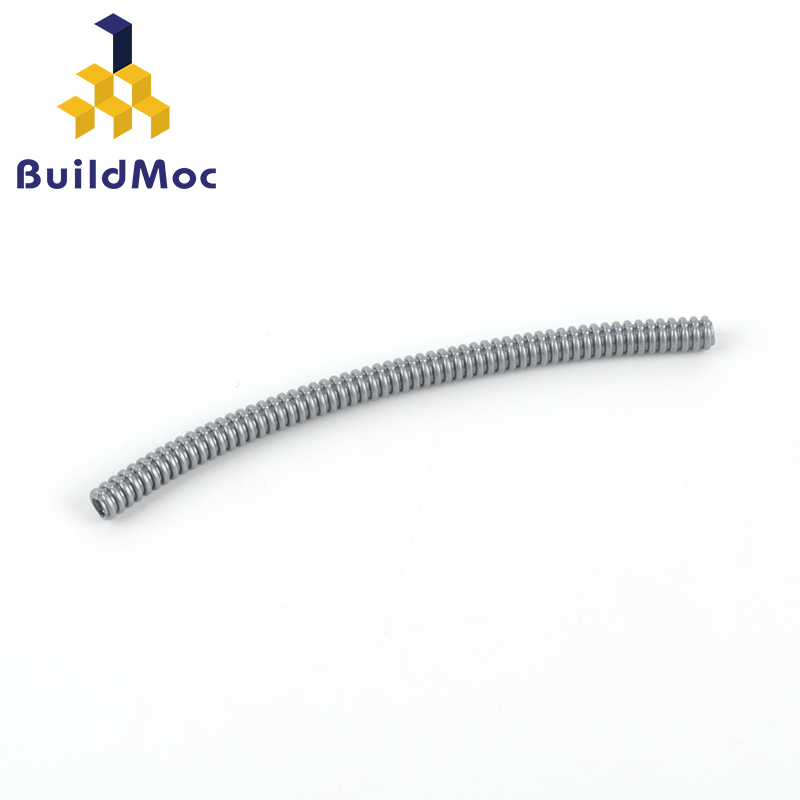 BuildMOC Assembles Particles 78c13 104mm Technology Hose (diameter 4.8mm) Building Blocks Part DIY Educational Toys