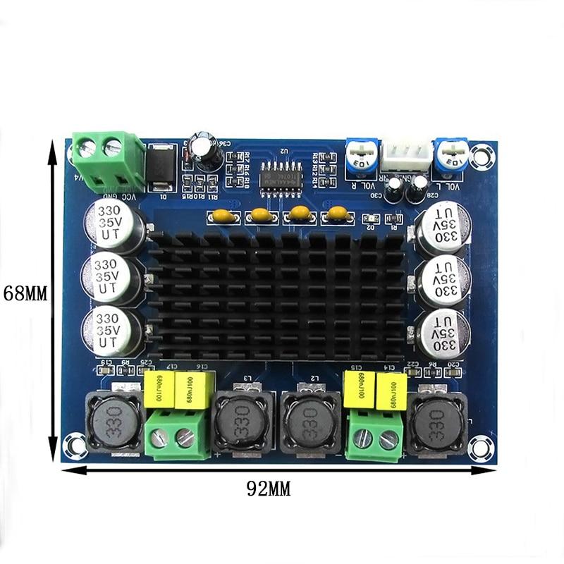 cheapest Smart Electronics Tda7498 Dc 14-34V Amplifier Board Of Class D 2X100W Dual Channel Audio Stereo Amplifier Board Xh-M510