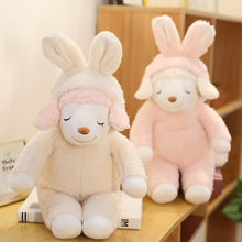 Soft Sheep Toys Stuffed Sleep Sheep Dolls For Kids Cute Animals toys For Children Girls Pink Dolls For Birthday Gifts printio pink sheep