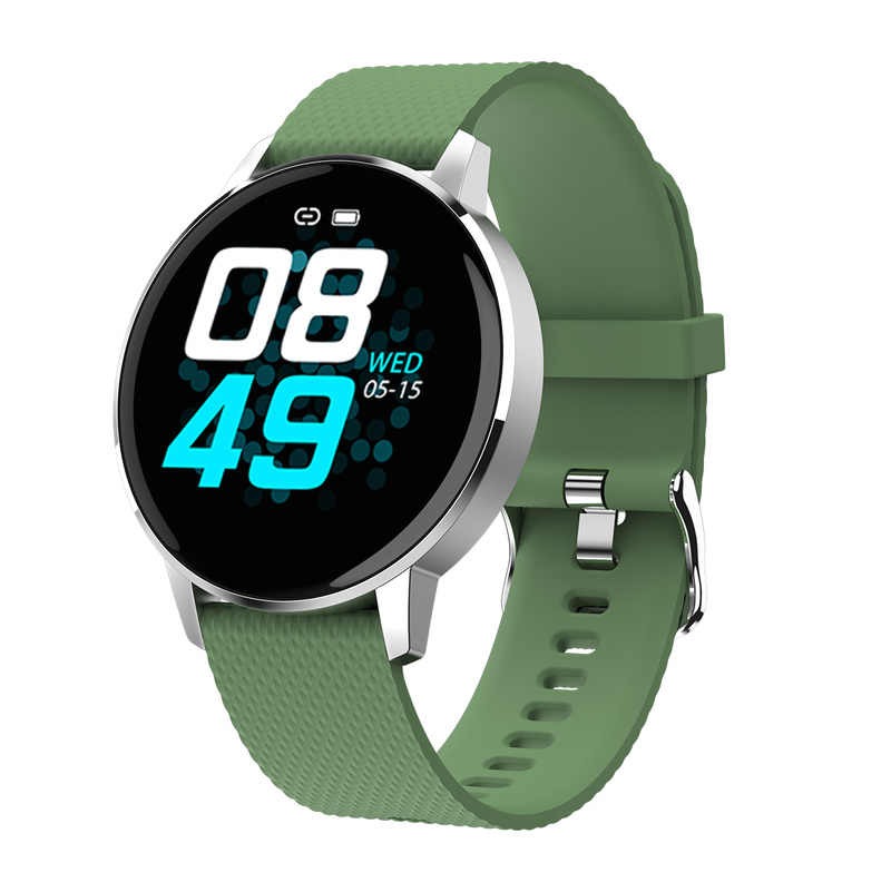 T4 Smart Watch IP68 Mendalam Tahan Air Kaca Smart Band Fashion Pelacak Kebugaran Darah Oksigen Smart Watch PK V12 Gelang