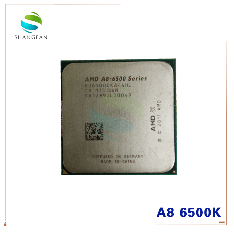 AMD Series A8-6500 A8 6500K A8 6500 AD6500OKA44HL 3.50GHz 4.1GHz Turbo Desktop CPU Socket FM2