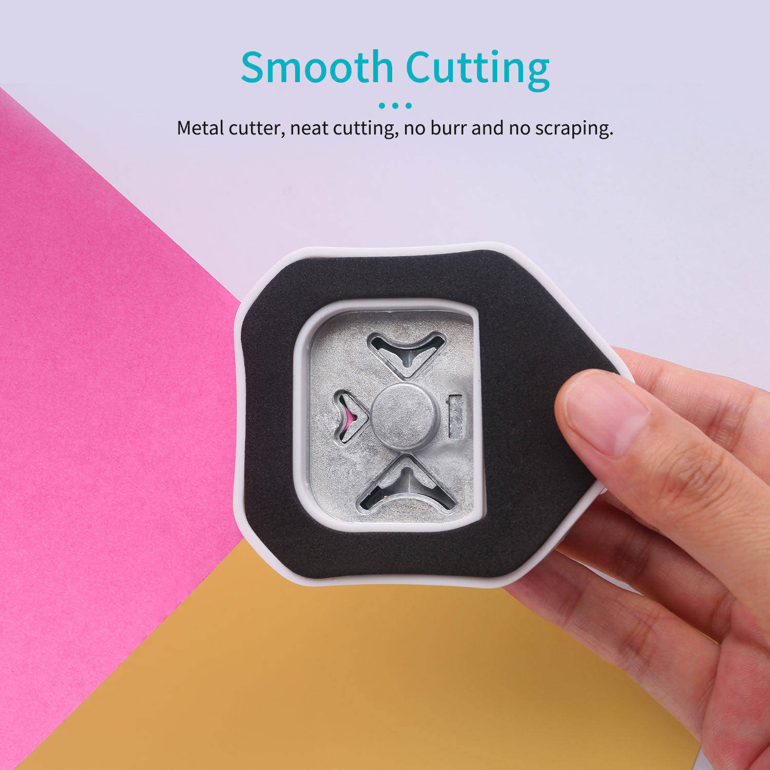 3-in-1 Mini corner trimmer Corner Rounder Punch R4/R7/R10mm Round Corner Trimmer Cutter for Card Photo Paper Laminating Pouches 3