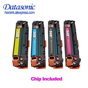 Image 1 - Cartucho de tóner Compatible con Dat CF540A CF541A CF542A CF543A CF540 para H P Laserjet M254 M254nw M254dw MFP M281fdw M281fdn M280nw