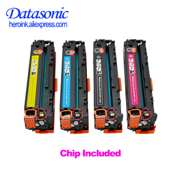 Dat Compatible toner cartridge CF540A CF541A CF542A CF543A CF540 for H P Laserjet M254 M254nw M254dw MFP M281fdw M281fdn M280nw