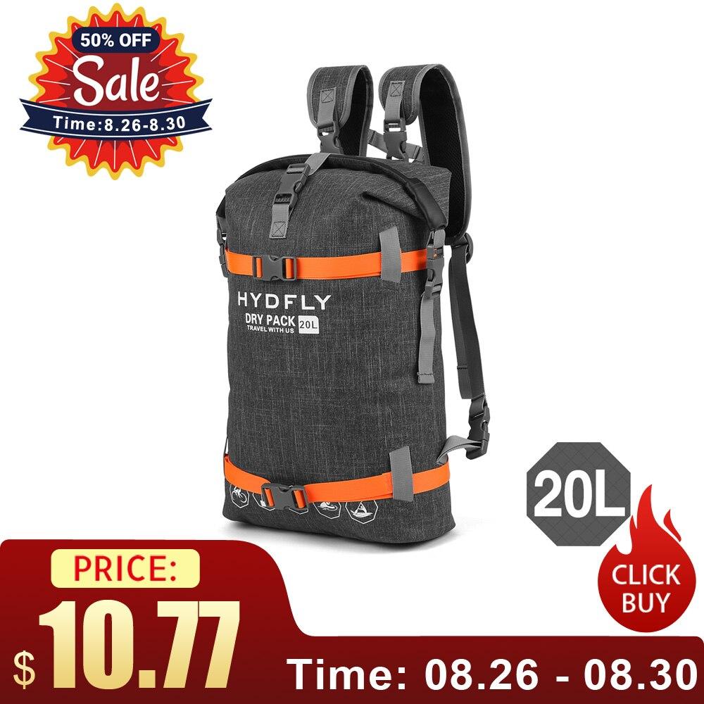 Sack Backpack River-Trekking-Bag Dry-Bag Floating-Sailing Waterproof 15L/20L