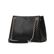 Luxury Brand Handbag 2019 Fashion New High Quality PU Leather Women's Handbag La