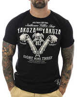 Yakuza Hemd Tattoo Shop 10009 Schwarz Neu M? Nner T Shirt Neue Marke Kleidung T Shirts